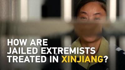 """Documental exclusivo CGTN """"La guerra entre sombras: Desafíos de la lucha contra el terrorismo en Xinjiang"""". (PRNewsfoto/中国国际电视台CGTN)"""