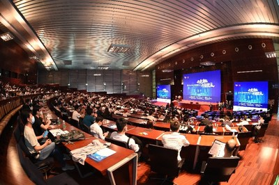 Más de 600personas asistieron de manera presencial y 238.000 participaron a través de la transmisión en directo en el Noveno Foro Internacional sobre la Gestión de Proyectos. (PRNewsfoto/PMI)