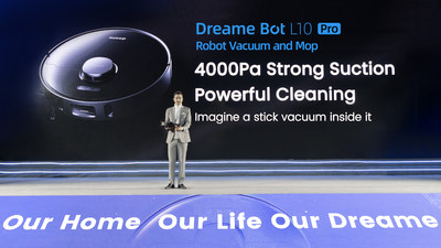 Dreame's New Product Launch Event for a Better Home and Smarter Future