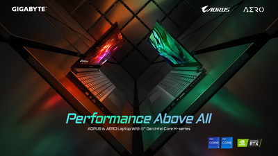 Rendimiento ante todo: GIGABYTE lanzó nuevas computadoras portátiles con procesadores Intel de alto rendimiento de 11° generación