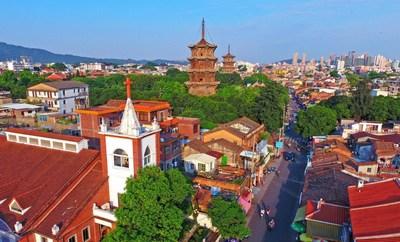 Quanzhou exhibe la diversidad cultural de China. (Foto de Chen Yingjie ) (PRNewsfoto/Xinhua Silk Road)