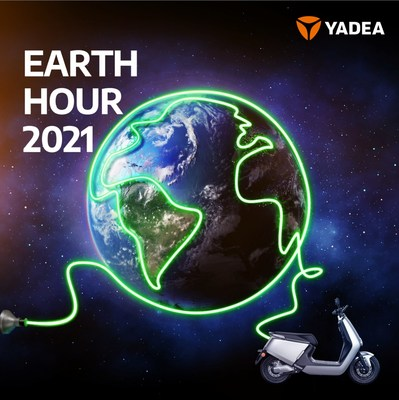 On Earth Day 2021, Yadea shared a post on Facebook inviting netizens to make the planet a better future with the company's zero-emission vehicles.