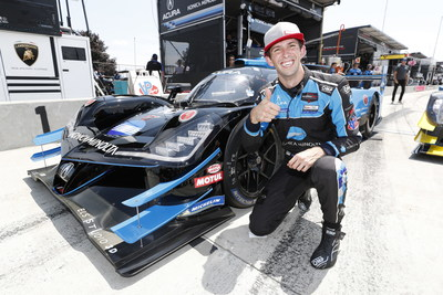 Ricky Taylor piloted his Acura ARX-05 prototype to his first pole of the 2021 IMSA WeatherTech SportsCar Championship today at Watkins Glen International Raceway in preparation for Sunday's Sahlen's Six Hours of the Glen.