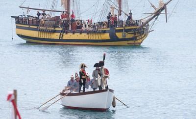 Napoleon's historical commemoration at Elba Island