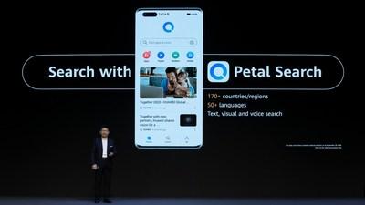 Petal Search en el lanzamiento de la serie HUAWEI Mate40 (PRNewsfoto/Huawei)