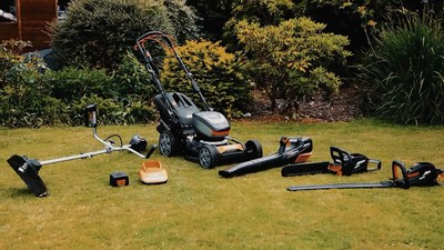 """The """"MR60V"""" range, comprises of lawn mower, 2-in-1 brush cutter/grass trimmer, chain saw, hedge trimmer and blower. All powered by the most advanced BMS (Battery Management System), Proactive Battery Cooling System and Brushless Motors, giving 20% more performance, extended life cycle, longer operation – one step closer to making petrol powered garden tools a thing of the past."""